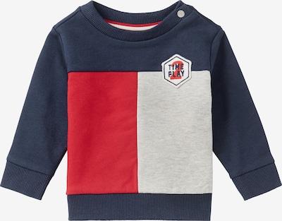 Noppies Sweatshirt in marine / grau / rot, Produktansicht