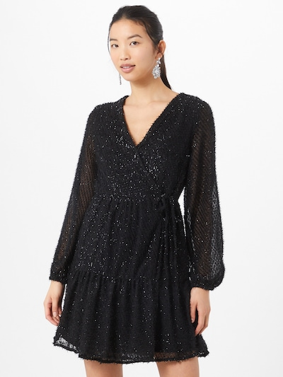 PIECES Kleid in schwarz, Modelansicht