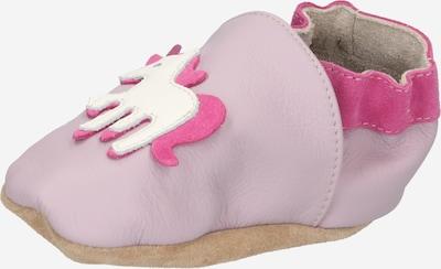 BECK Hausschuh 'Einhorn' in helllila / pink / weiß, Produktansicht