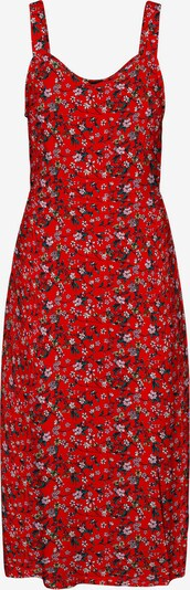VERO MODA Kleid 'Simply Easy' in mischfarben / cranberry, Produktansicht