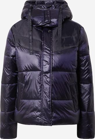 TAIFUN Winter Jacket in Purple