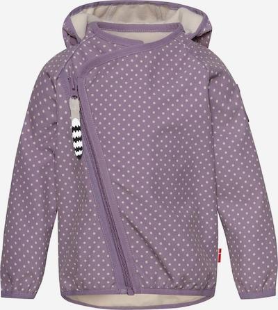 Racoon Outdoor Functionele jas 'Edith' in de kleur Lila / Wit, Productweergave