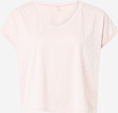 ROXY T-shirt fonctionnel 'Sunshine' en rosé / rose ancienne / blanc, Vue avec produit