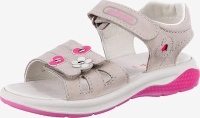 ELEFANTEN Sandalen in hellgrau / pink, Produktansicht