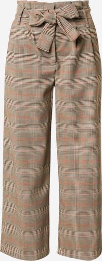 VILA Pantalon à pince 'Mulini' en beige / marron / mélange de couleurs, Vue avec produit