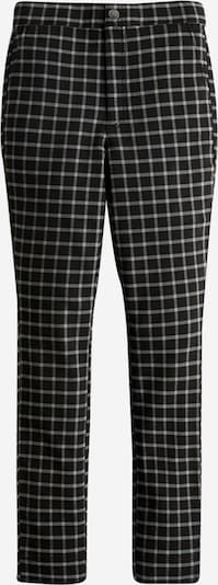 Pantaloni HOLLISTER pe negru / alb, Vizualizare produs
