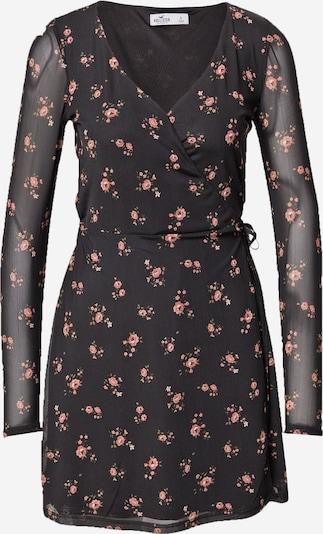 HOLLISTER Robe en vert clair / rose / noir, Vue avec produit