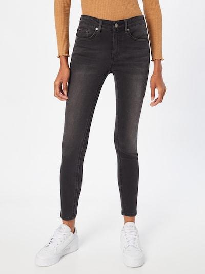 ABOUT YOU Jeans 'Elis' in black denim, Modelansicht