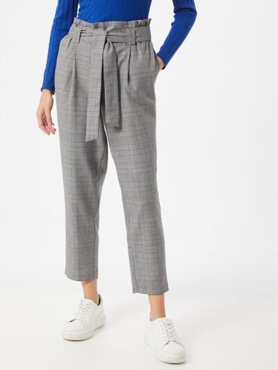 Pantaloni cutați JACQUELINE de YONG pe gri închis / gri amestecat, Vizualizare model