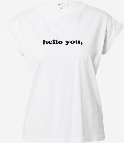 Tricou Grace & Mila pe negru / alb, Vizualizare produs