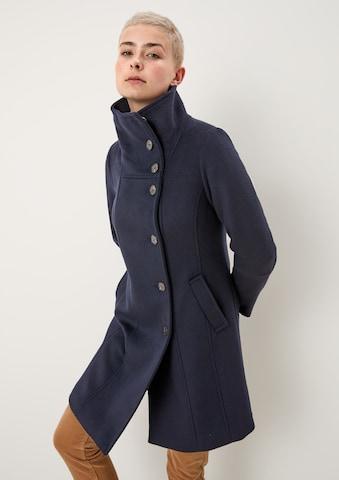 s.Oliver Between-Seasons Coat in Blue