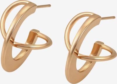 Heideman Boucles d'oreilles 'Distor' en or, Vue avec produit