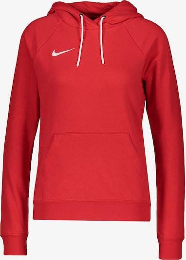 NIKE Athletic Sweatshirt in Red / White, Item view