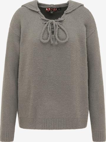 myMo ROCKS Pullover in Grey