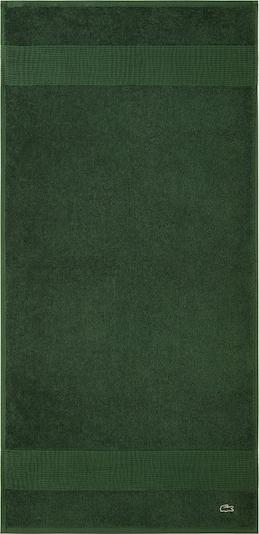 LACOSTE Gästehandtuch 'LE CROCO' in grün, Produktansicht