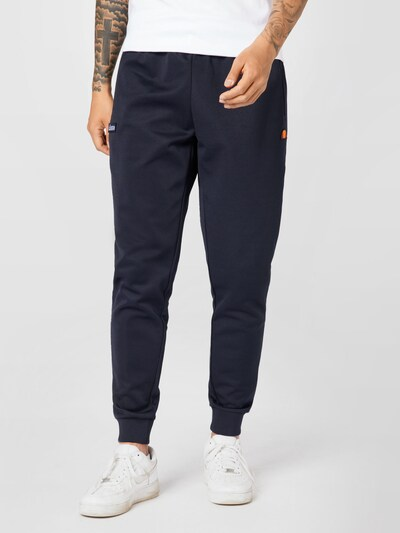 Pantaloni 'Bertoni' ELLESSE pe bleumarin / portocaliu / roșu / alb, Vizualizare model
