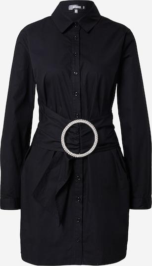 Missguided Sukienka koszulowa w kolorze czarnym: Widok z przodu