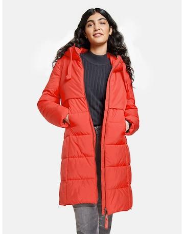 TAIFUN Winter Coat in Red
