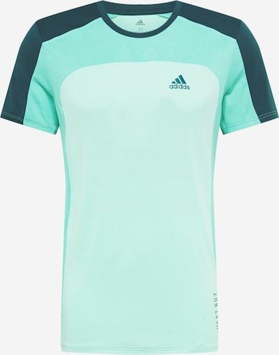 ADIDAS PERFORMANCE Functioneel shirt in de kleur Petrol / Mintgroen / Jade groen, Productweergave