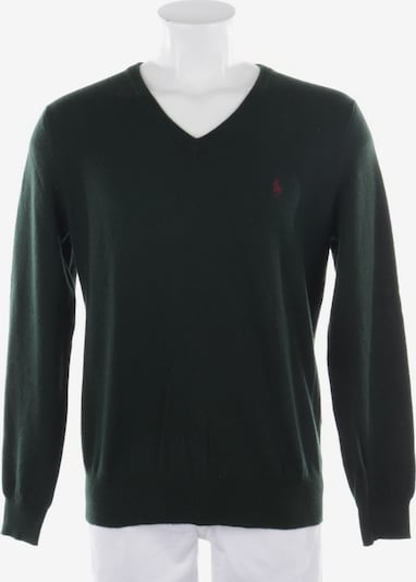POLO RALPH LAUREN Wollpullover in S in dunkelgrün, Produktansicht