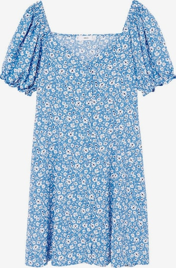 MANGO Kleid 'Sere' in blau / weiß, Produktansicht