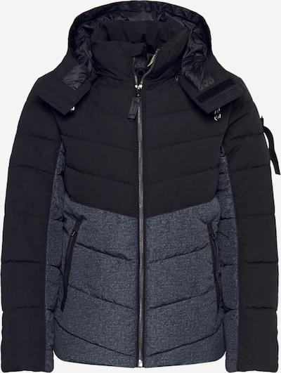 TOM TAILOR Jacke in schwarz / schwarzmeliert, Produktansicht