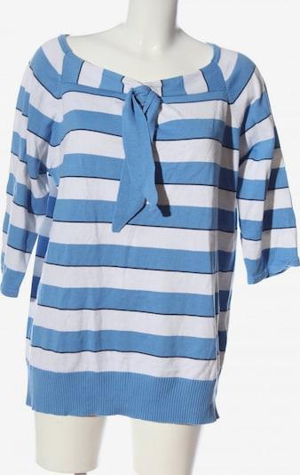 NKD V-Ausschnitt-Pullover in 5XL in blau / schwarz / weiß, Produktansicht