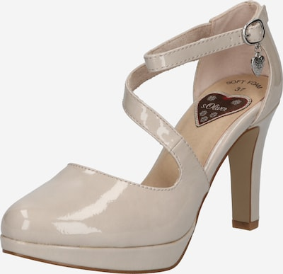 s.Oliver Slingback pumps in Light grey, Item view