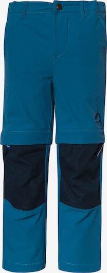 FINKID Abzipbare Outdoorhose in blau, Produktansicht