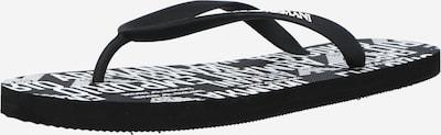 Emporio Armani Zehentrenner in schwarz / weiß, Produktansicht