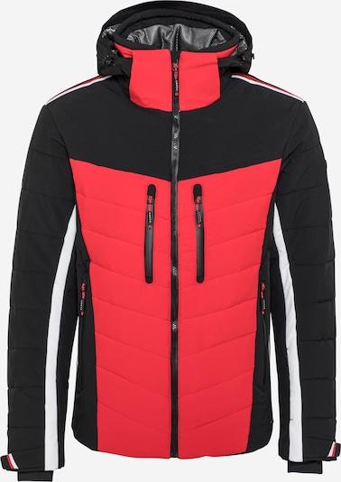 LUHTA Športna jakna 'HASSI'   rdeča / črna / bela barva, Prikaz izdelka