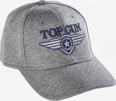 TOP GUN Cap in marine / graumeliert / weiß, Produktansicht