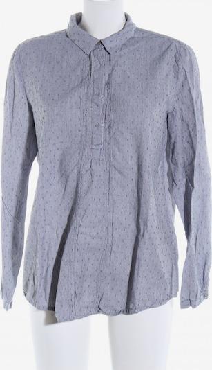ESPRIT Langarm-Bluse in L in hellgrau: Frontalansicht
