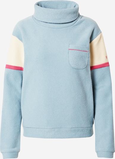 ROXY Sportsweatshirt 'KIRAH' in beige / hellblau / pink: Frontalansicht