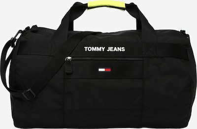 Tommy Jeans Ceļojumu soma, krāsa - tumši zils / sarkans / melns / balts, Preces skats
