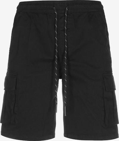 Pantaloni cu buzunare Urban Classics pe negru, Vizualizare produs