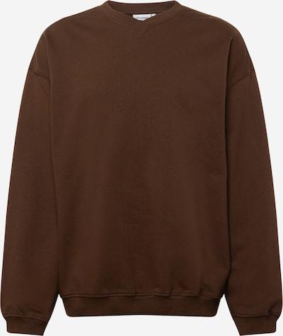 WEEKDAY Sweatshirt 'Emanuel' in schoko, Produktansicht