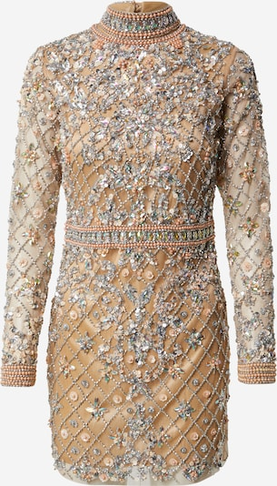 A STAR IS BORN Kleid in beige / gold / silber, Produktansicht