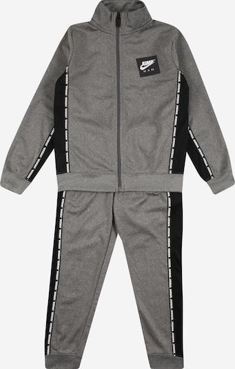 Jordan Traje para correr 'JUMPMAN' en gris oscuro / negro / blanco, Vista del producto