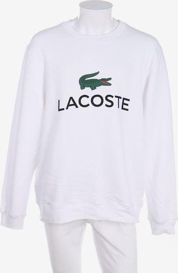 LACOSTE Sweatshirt in XXL in weiß, Produktansicht