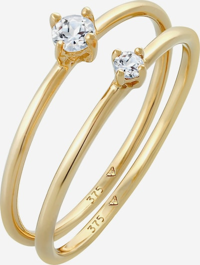 ELLI PREMIUM Ring Edelstein Ring in gold, Produktansicht