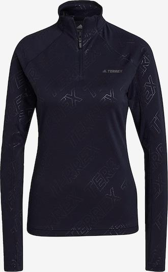 adidas Terrex T-shirt fonctionnel 'TERREX Tracerocker' en bleu nuit / gris, Vue avec produit
