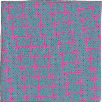 Hans Hermann Einstecktuch 'Einstein' in dunkelgrau / pink, Produktansicht