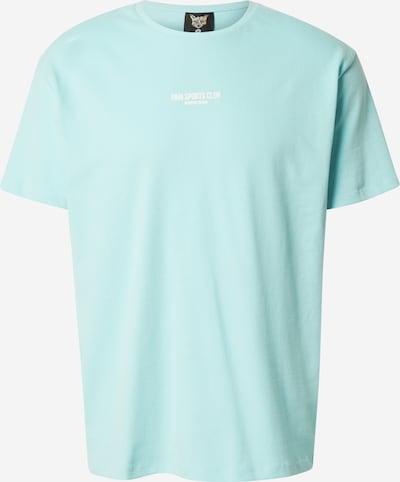 PARI Shirt 'SPORTS CLUB' in Turquoise / White, Item view