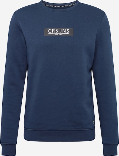 Cars Jeans Sweater majica 'HEMSER' u mornarsko plava, Pregled proizvoda
