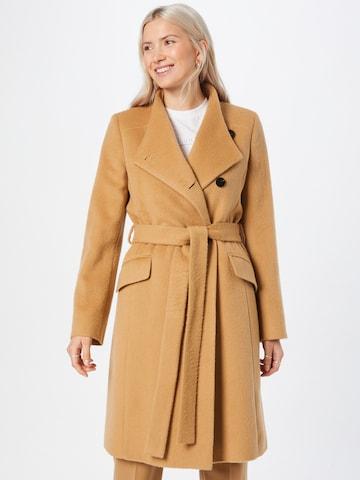 HUGO Płaszcz przejściowy 'Milea' w kolorze brązowy