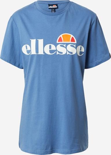 ELLESSE T-shirt 'Albany' en bleu clair / orange / rouge clair / blanc, Vue avec produit