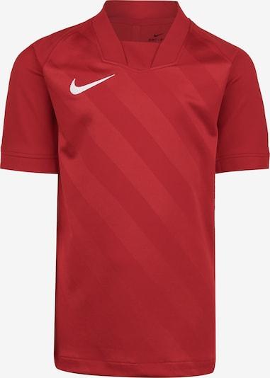 NIKE T-Shirt fonctionnel en rouge / blanc, Vue avec produit