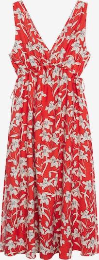 MANGO Kleid 'Becca' in rot / schwarz / weiß, Produktansicht