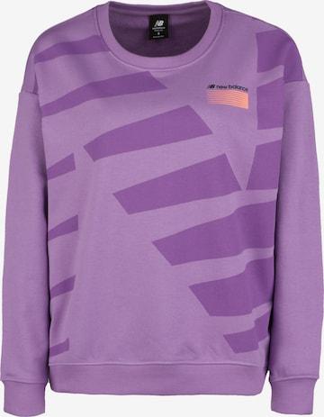 new balance Sweatshirt in Purple
